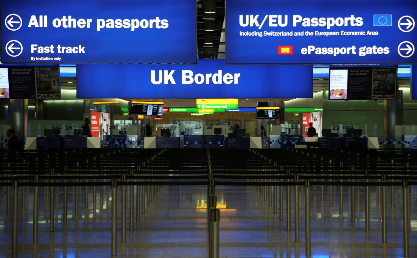 UK authorities log religion of people stopped on country's borders, form reveals