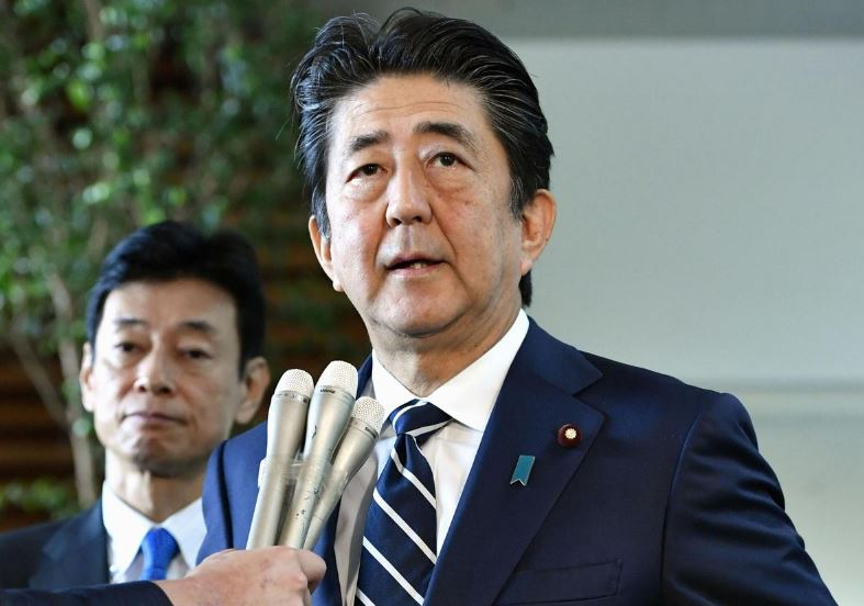 Japan PM: Aiming to do everything possible to ease Middle East tension