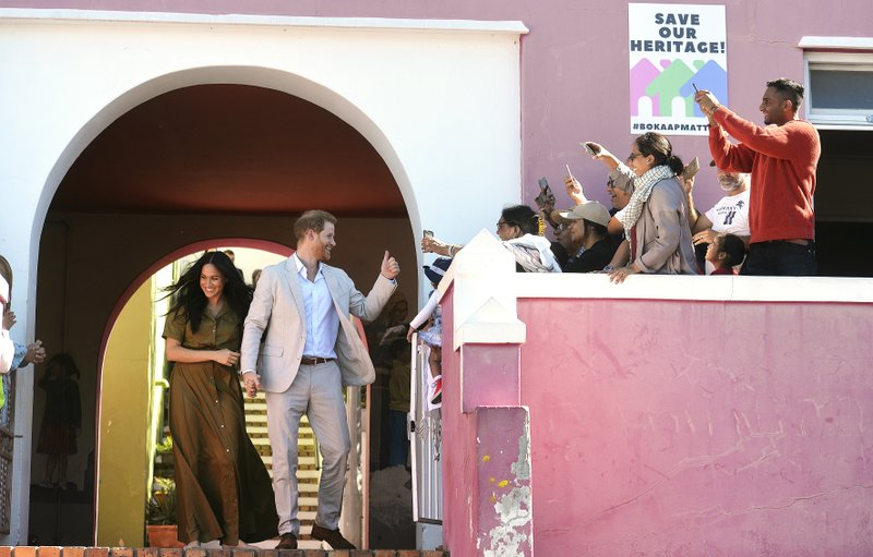 Harry and Meghan visit South Africa's Oldest Mosque on Tour