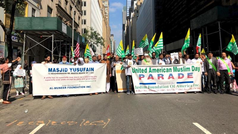 Kashmir in Focus at Muslim Day Parade in New York