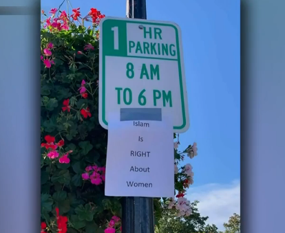 'Islam is RIGHT About Women' Flyers Spark Concern in Winchester
