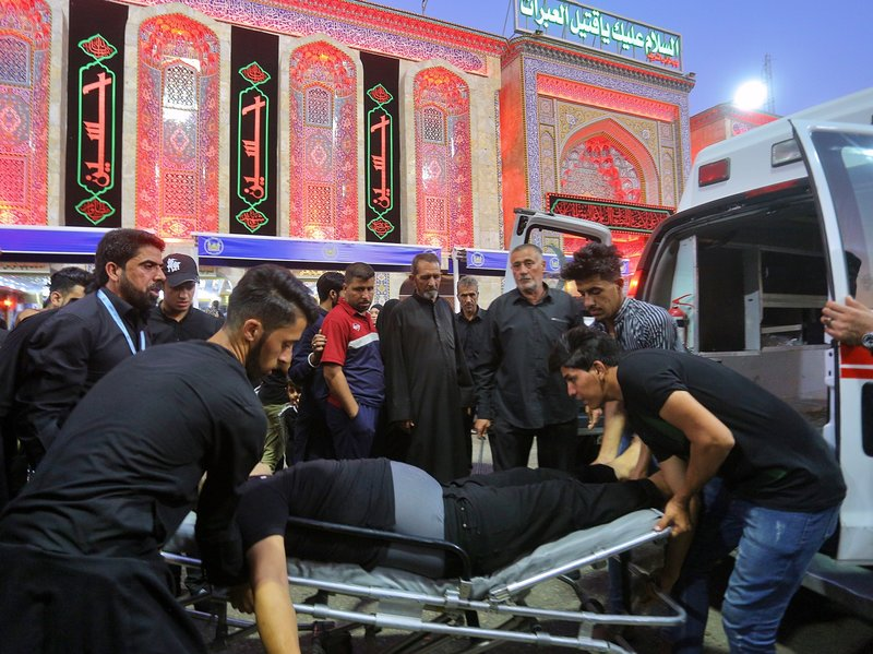 Mass Stampede At Iraqi Shia Shrine Kills More Than 30 Pilgrims