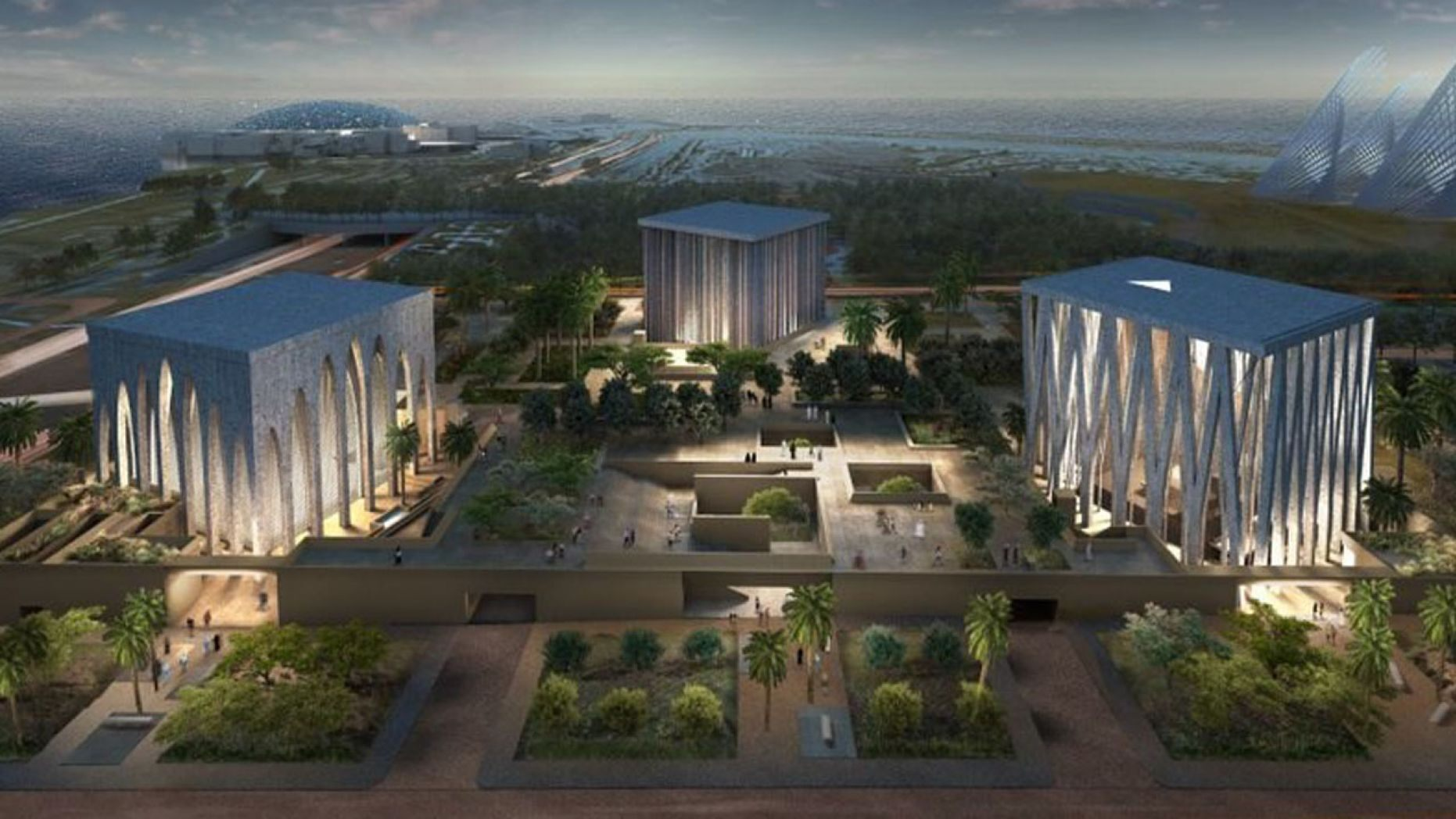 A church, a Synagogue and a Mosque to Share Interfaith Complex in Abu Dhabi
