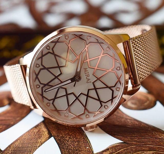 Islamic heritage inspiring watch design