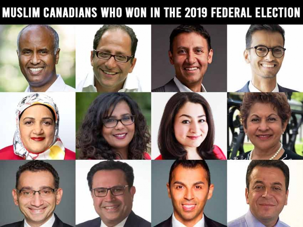 Muslim Canadians Who Won in the 2019 Federal Election