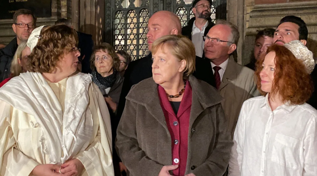 German Synagogue Shooting Makes Clear the Far Right Targets Jews and Muslims Alike