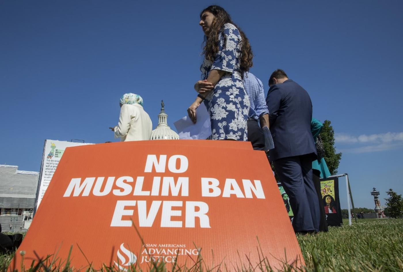 Muslim Rights Group Lobbies House Democrats to Back 'No Ban' Bill