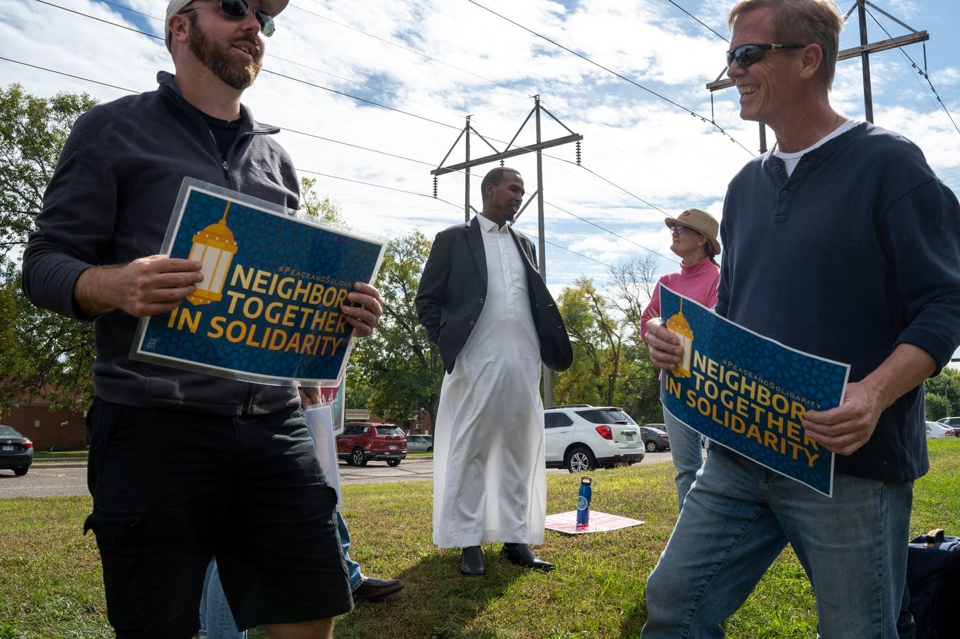 Twin Cities Mosque on Edge after Opponents Start Pointing the Cameras at Children