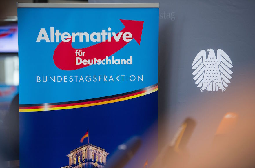 Electoral Gains by Far-Right Alternative for Germany Party Worry Jews and Muslims