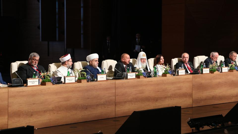 Azerbaijan Hosts Second Summit of World Religious Leaders in Baku
