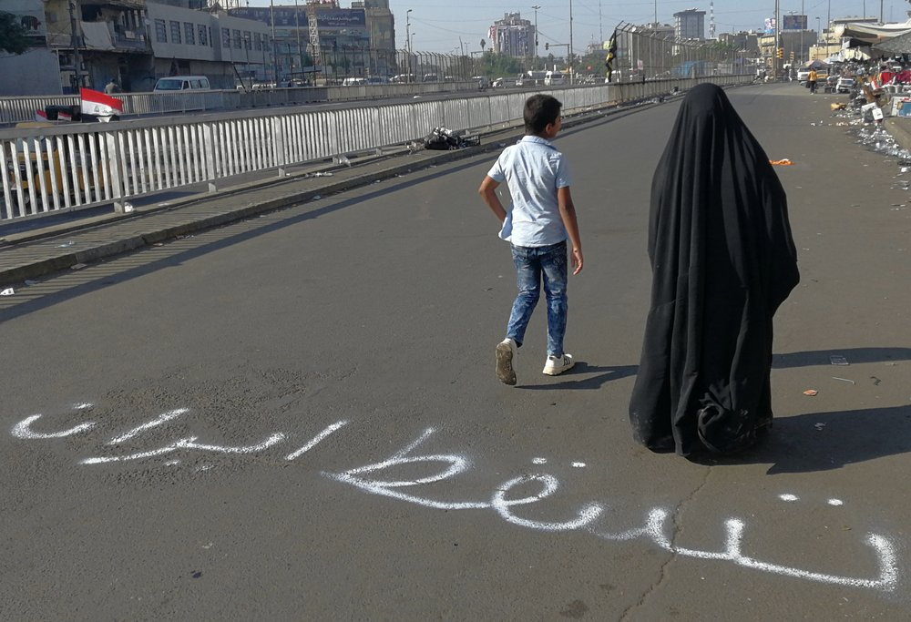 Protests in Iraq reveal a Long-Simmering Anger at Iran