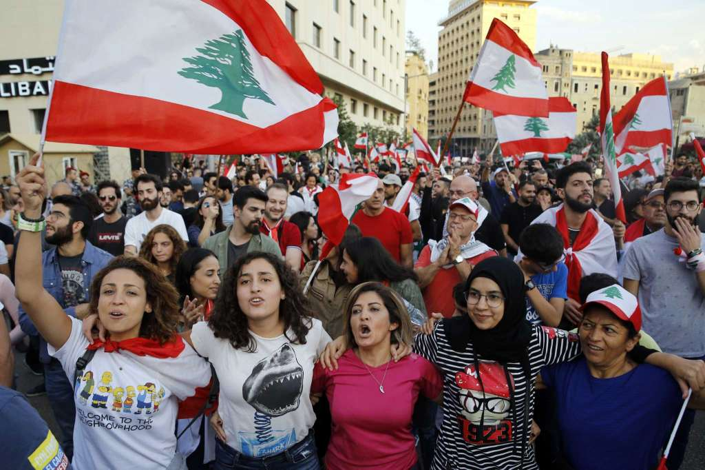 Lebanon Uprising Unites People Across Faiths, Defying Deep Sectarian Divides