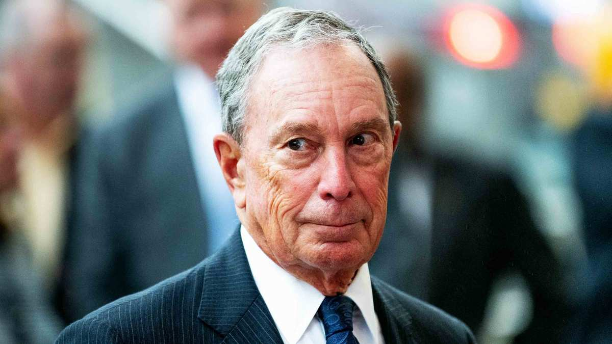 He's Sorry for Stop-And-Frisk, and Locker-Room Talk. Where's Mike Bloomberg's Apology for Spying on Muslims?