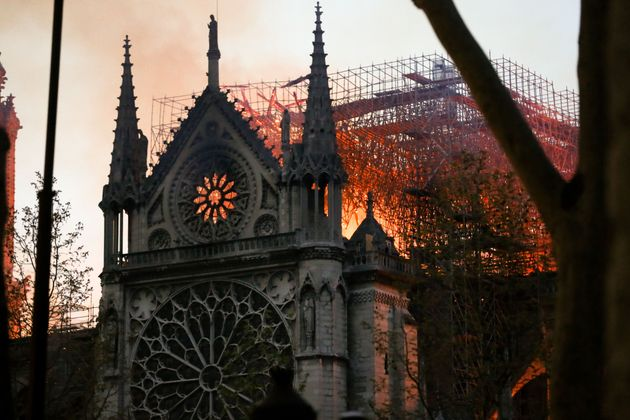 How A Conspiracy Theory About The Notre Dame Cathedral Led To A Mosque Shooting