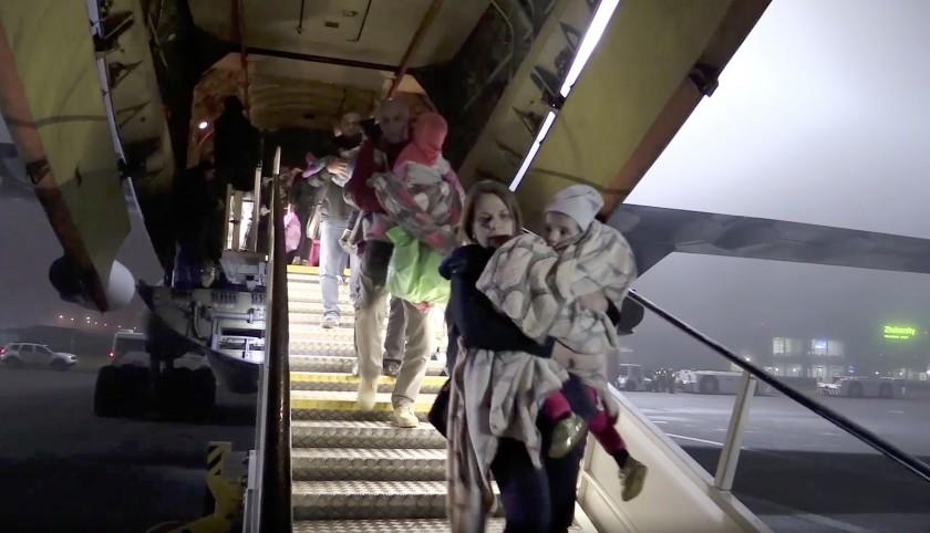 Russia Repatriates 32 Children of Islamic State Members from Iraq