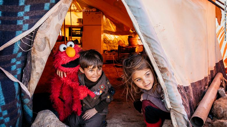 A New 'Sesame Street' Show in Arabic Aims to Help Refugee Children