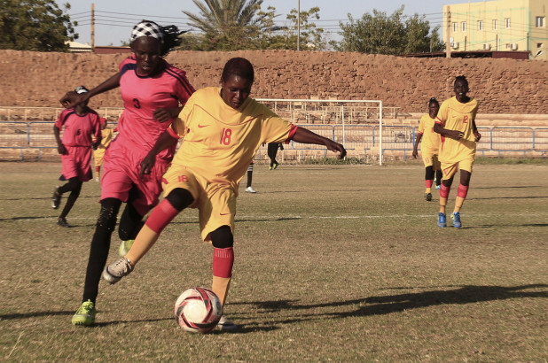 Women in Sudan Challenge Religious Beliefs While Pursuing Soccer Dreams