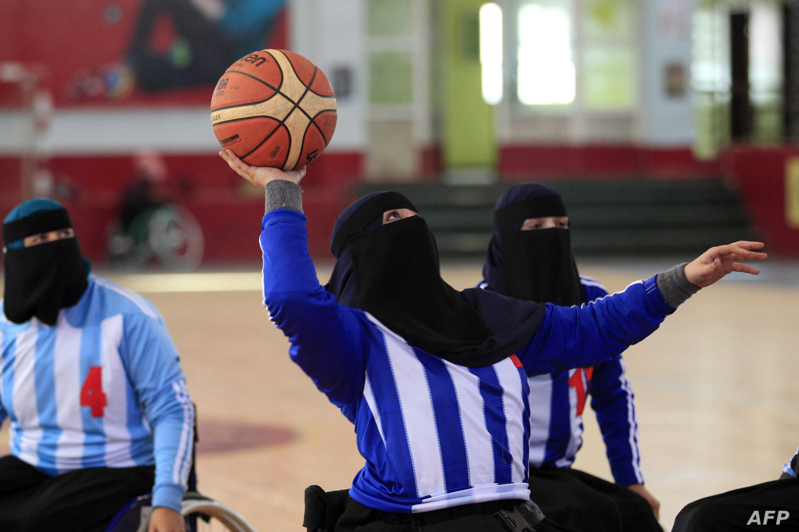 Yemen's Women With Disabilities Seek Inclusion Through Wheelchair Basketball