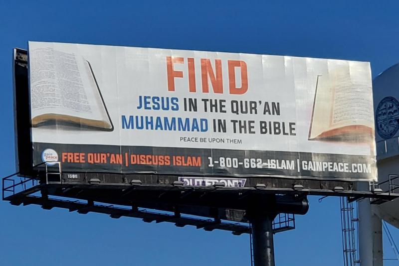 Dallas Billboard Seeks to Spark Conversation about Islam