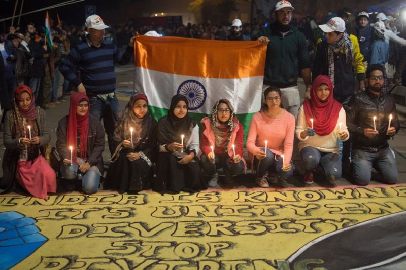 'Women Don't Give Up.' Why Female Protesters Are at the Forefront of India's Resistance Movement
