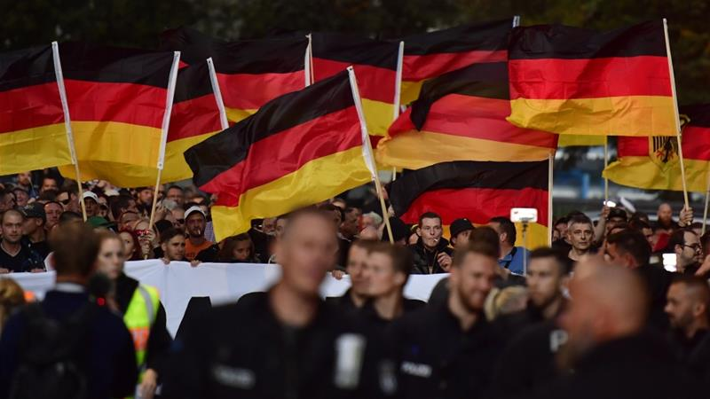 Far-Right Suspects in Germany Planned to Attack Muslims, Refugees