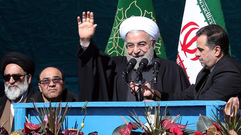 Iranians Mark Revolution Anniversary Amid High Tension With US