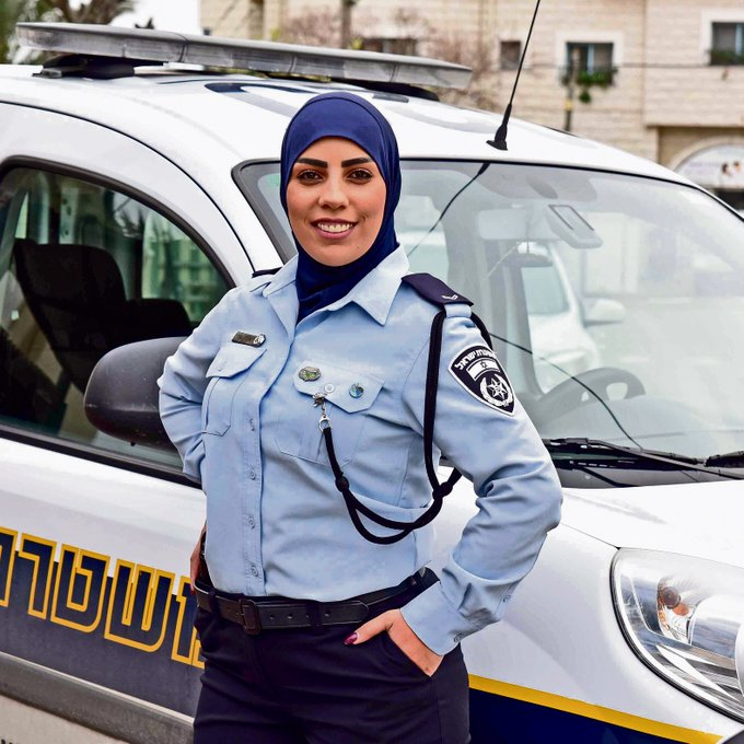 Israel Police Boasts First Hijab-Wearing Arab Officer but Palestinians Suffering Institutional Racism Say It's 'Woke-Washing'