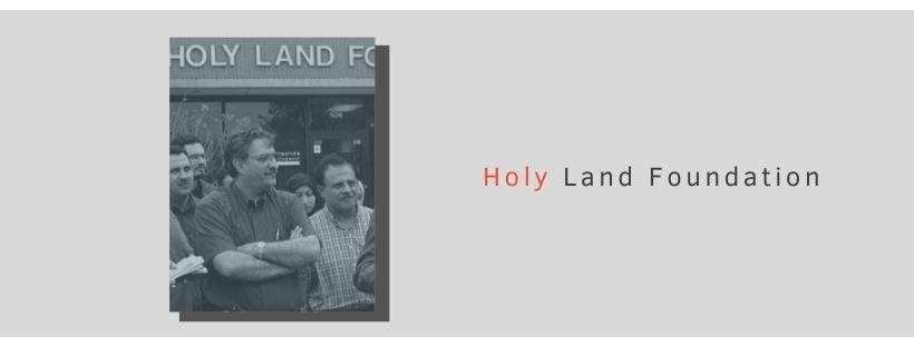 Factsheet: Holy Land Foundation