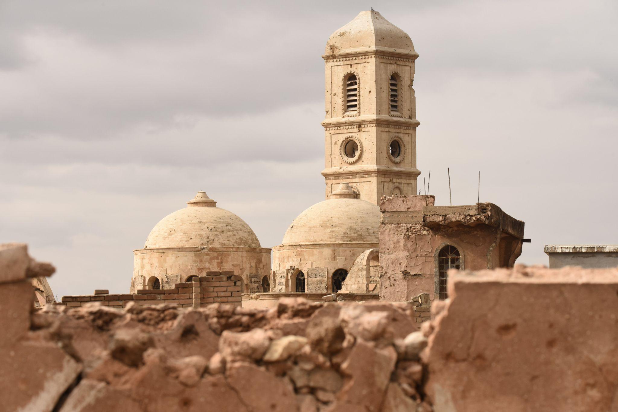 'Pure Human Genius': Devastated Ancient Sites Return to Life in Vr Exhibit