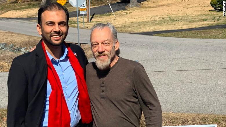 A Muslim Candidate Responded to a Man's Islamophobic Tweet by Donating to His Medical Fund - and Spurred a Friendship
