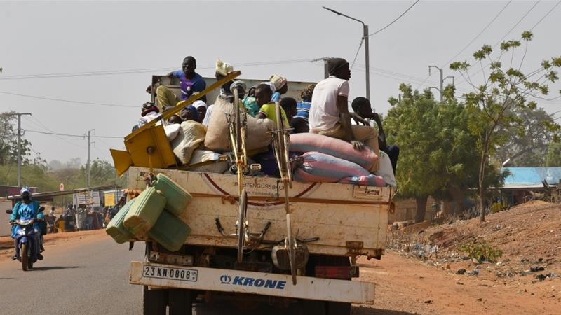 Burkina Faso Violence Forces 4,000 People From Their Homes Daily