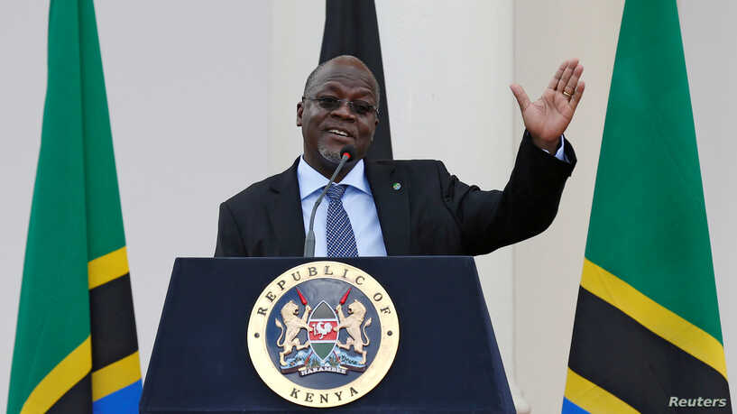 Tanzanian President Criticized for Refusing to Close Places of Worship