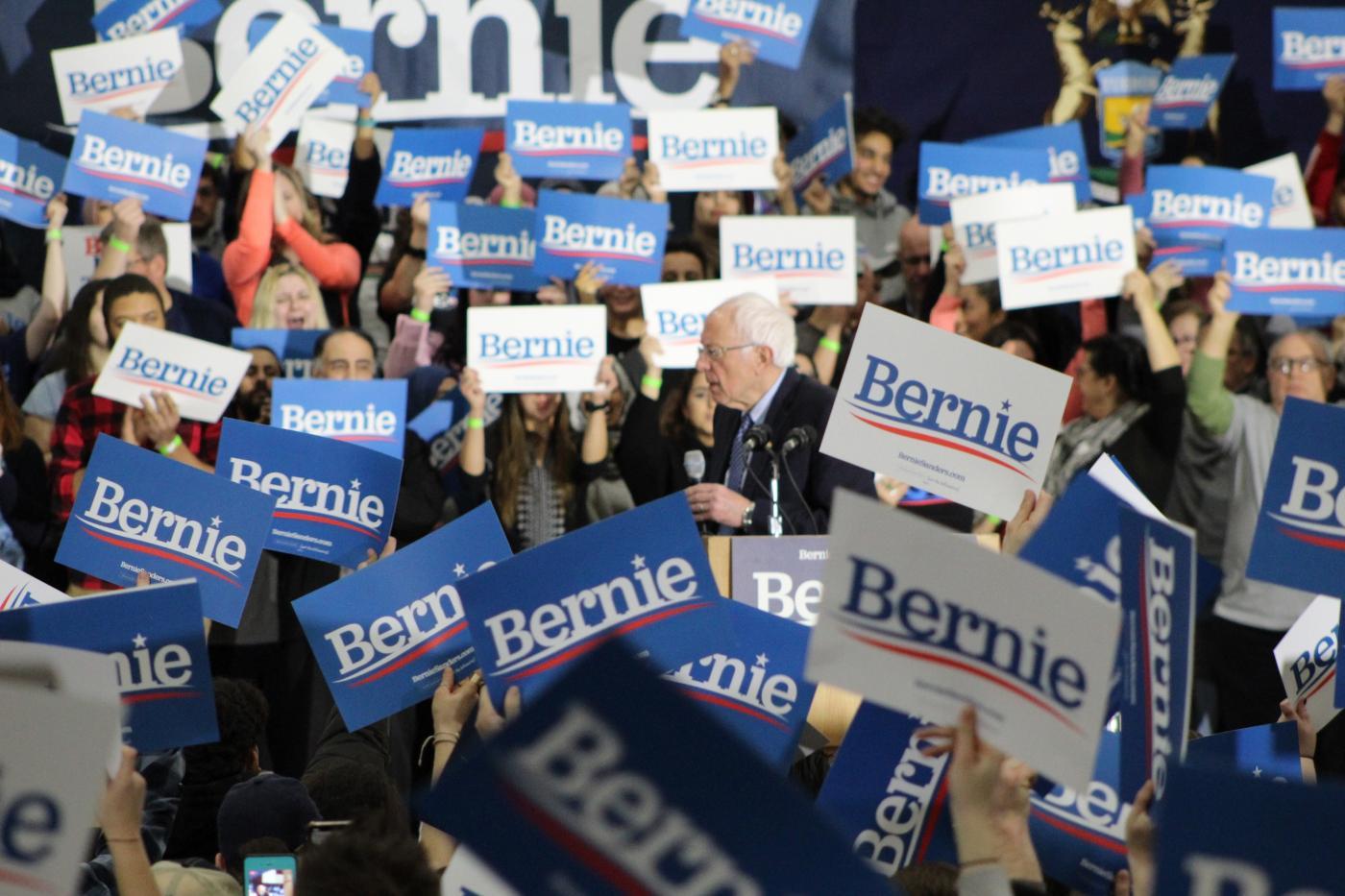 In Capital of Arab America, Bernie Sanders Pledges to Fight Discrimination