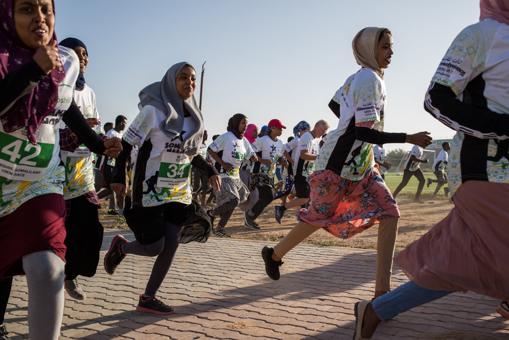 'I Feel Strong and Free': Running Takes Hold Among Women in Somaliland