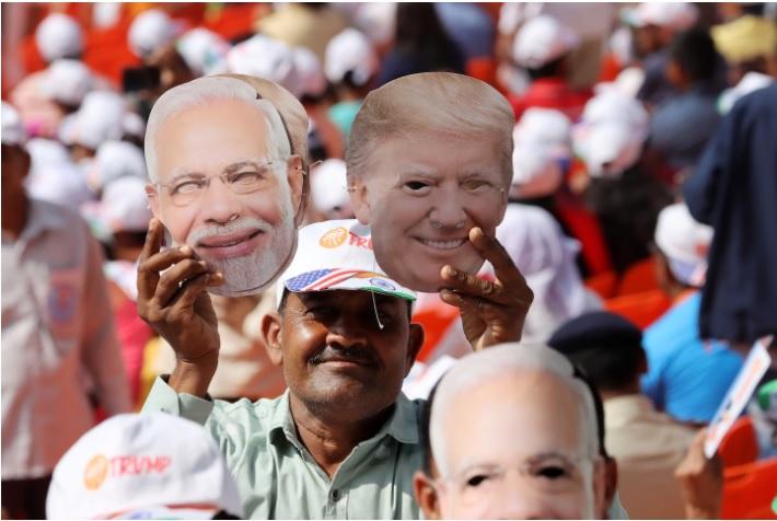 In India, Trump Validates Modi's Divisive Agenda