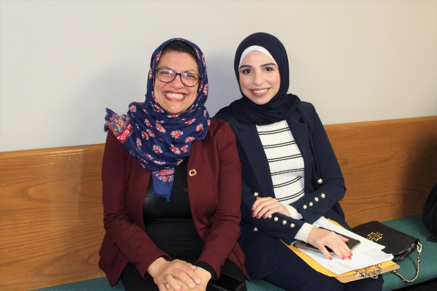 Rashida Tlaib Calls on Michigan's Muslim-Americans to Back 'Ammu Bernie'