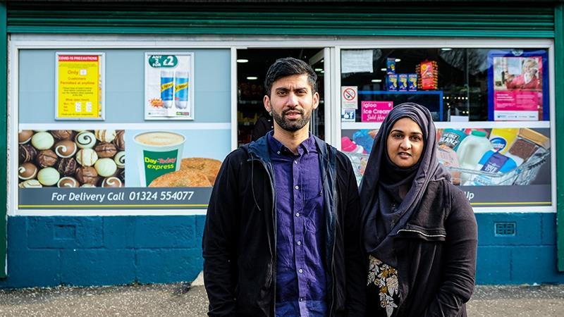 The Scottish Muslim Couple Winning Hearts Amid Coronavirus Crisis