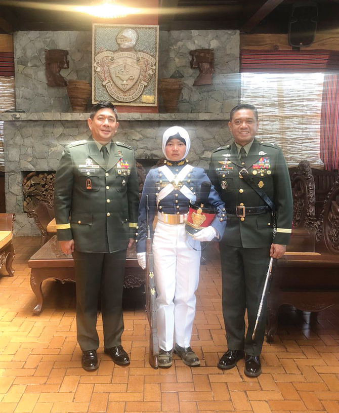Philippine Muslim Cadets Share their Experiences of Military Academy