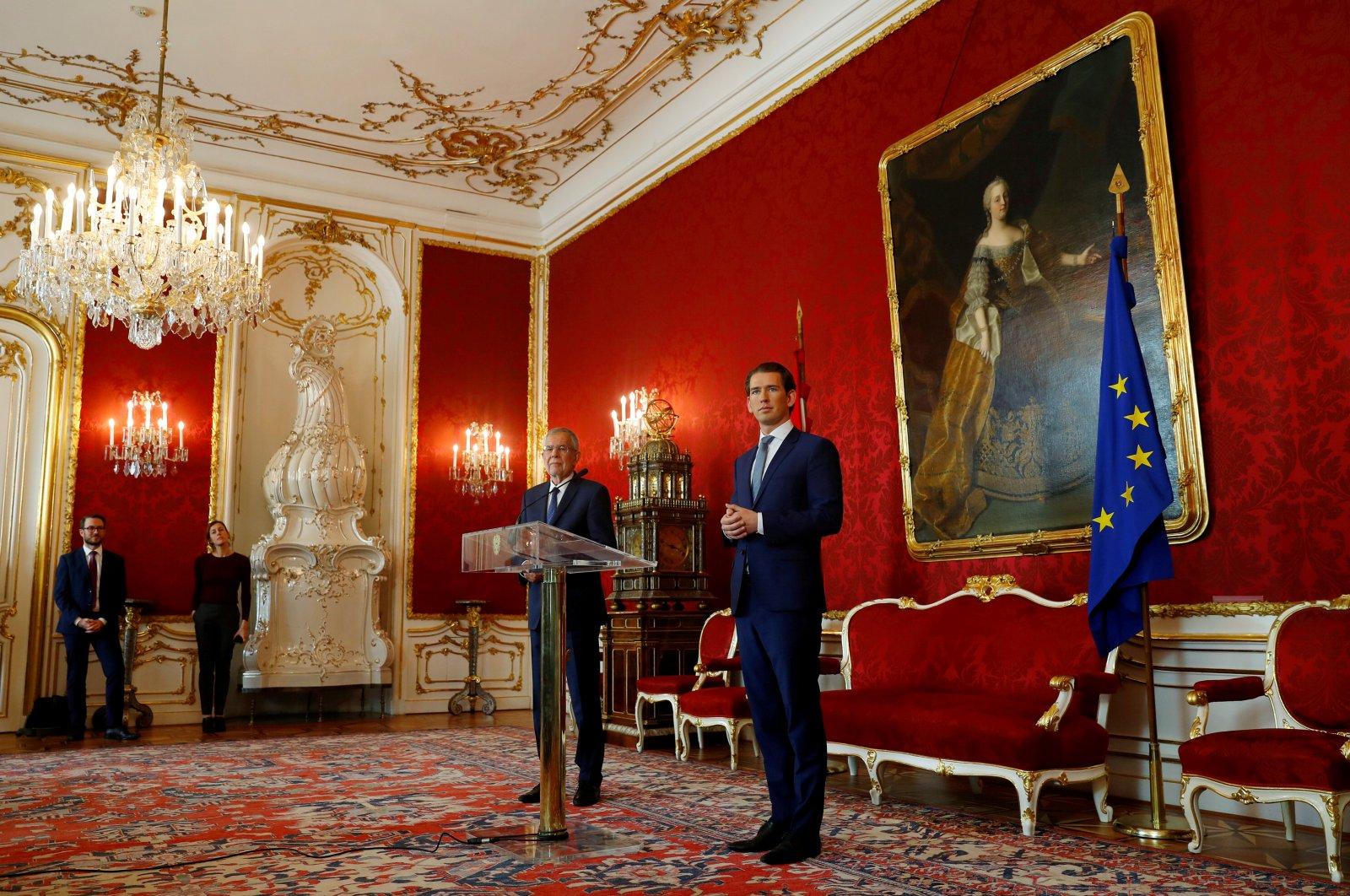 From Celebration to Crisis: The Austrian Chancellor of Exclusion