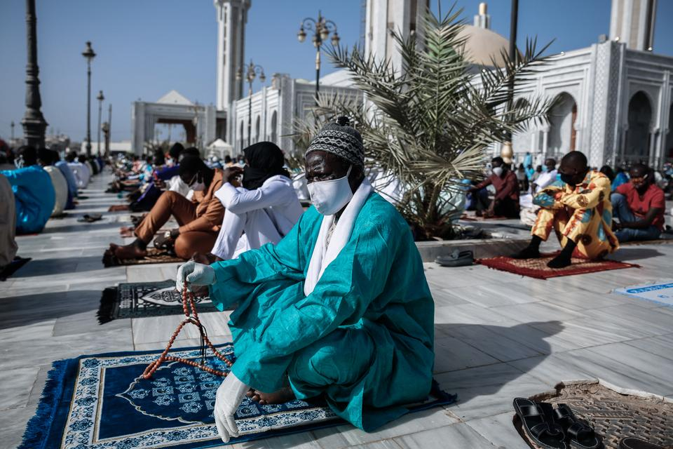 In Pictures: How Senegal Social Distanced and Still Held Mass Eid Prayers