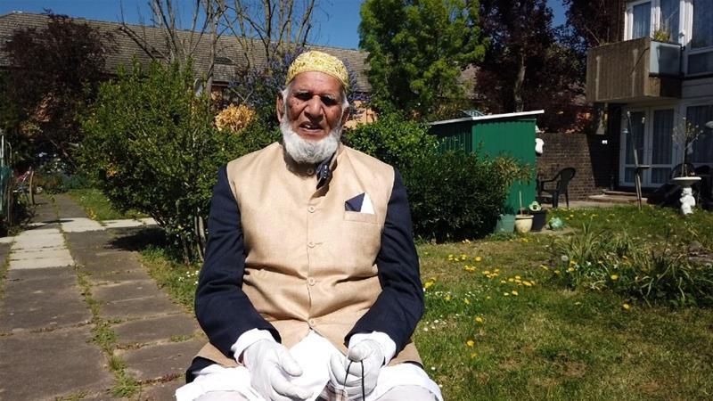 UK Muslim, 100, Walks Garden Laps for Virus Victims While Fasting