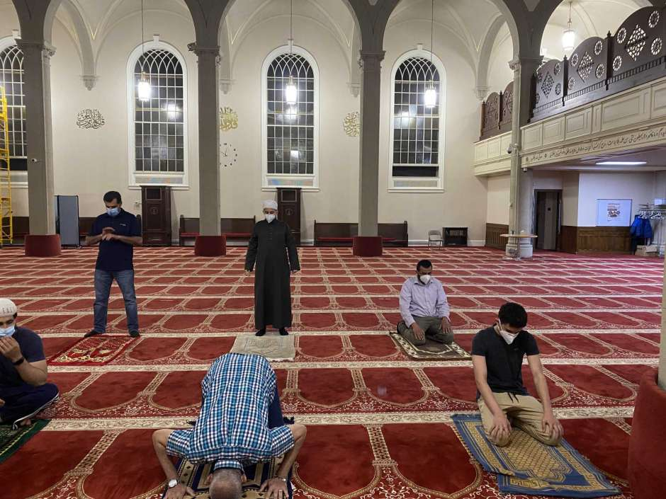Muslim Prayer Continues Amid Coronavirus Pandemic as CT Mosques Reopen
