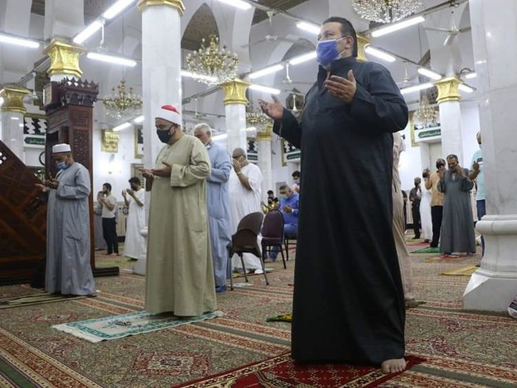 Covid-19: Rejoicing as Mosques Reopen in Egypt