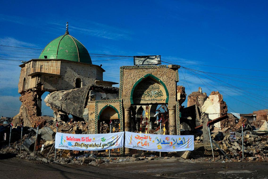 Iraq's Al Nuri Mosque: Hope Arises from its Ruins