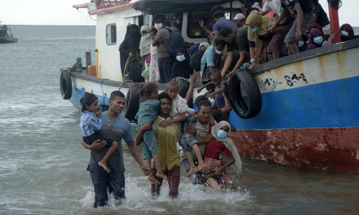 Indonesian Villagers Defy Covid-19 Warnings to Rescue Rohingya Refugees