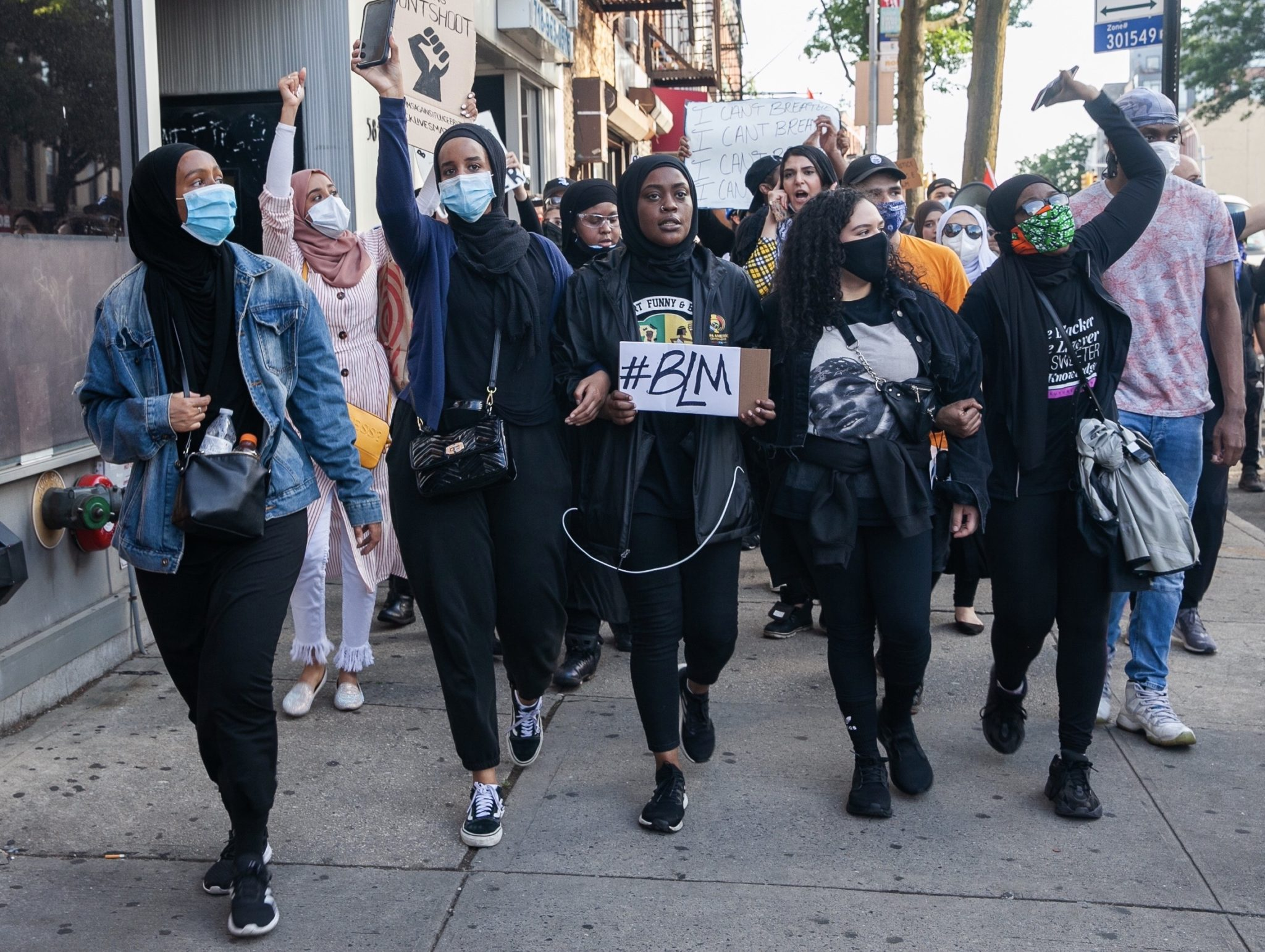 Muslims Against Police Brutality Protest: Bay Ridge To Barclays Center