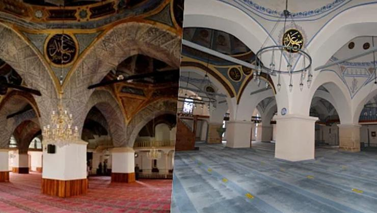 Restoration in Historical Mosque Raises Eyebrows