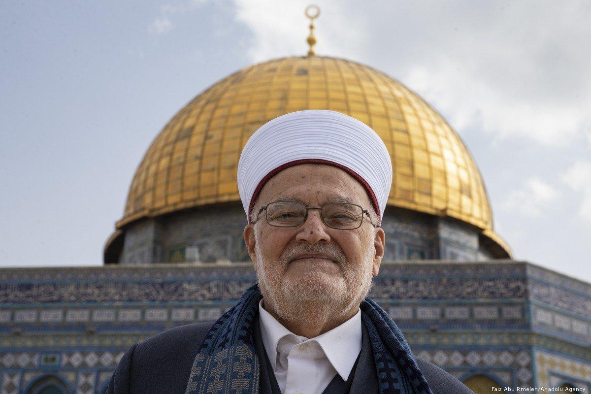 Israel Occupation Arrests Al-Aqsa Mosque Cleric