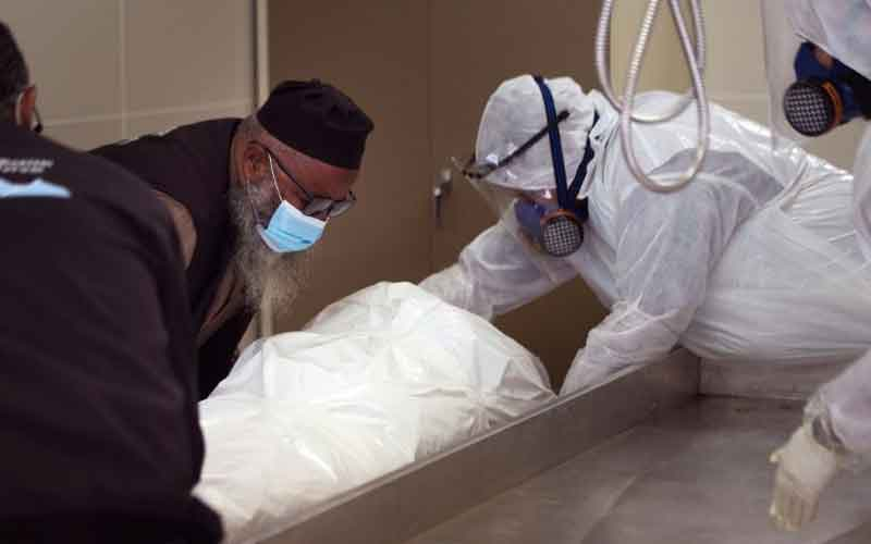 Wrapped in Plastic Muslim Funeral Rites Restricted in Virus Hit South Africa