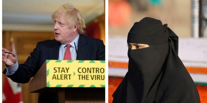 Politicians Love Face Coverings, as Long as the People Wearing Them Aren't Muslim Women